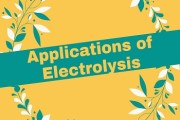 Applications of Electrolysis