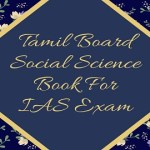 Tamil Board Social Science Book For IAS Exam