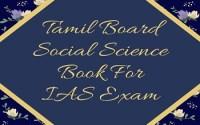 Tamil Board Social Science Book For IAS Exam