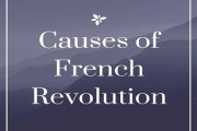 Causes of French Revolution [1789]