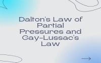 Daltons Law of Partial Pressures