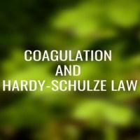Coagulation and Hardy-Schulze Law