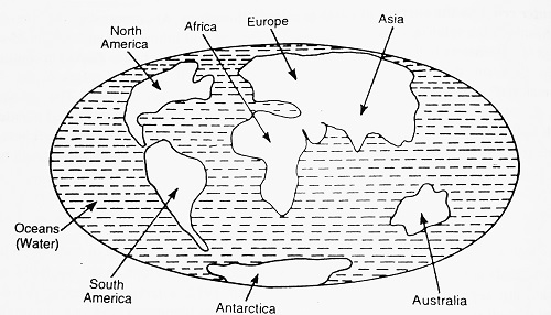 pangea break in to seven continents - The Case of Pangea