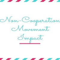 Impact of the Non-Cooperation Movement: