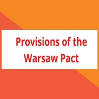 Provisions of the Warsaw Pact