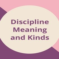 Discipline Meaning and Kinds