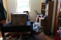 Moving into Regina hall Fall 2014