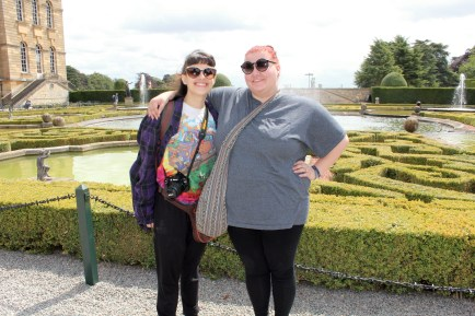 Pics with Katie in England