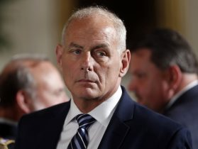 Chief of Staff Kelly Reviewing White House Changes