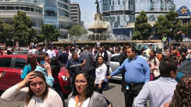 Major earthquake hits near Mexico City, at least four dead