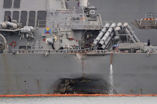 U.S. Navy Dismisses Top 2 Officers of U.S.S. McCain Over Deadly Collision