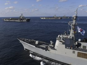 3 Aircraft Carrier Groups Take Part in Joint U.S.- S. Korean Maritime Drills