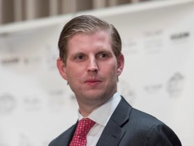 Eric Trump Lauds President's Asia Trip, Highlights Nat'l Security