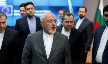 Iran's Zarif meets EU foreign policy chief as Europe tries to save nuclear deal