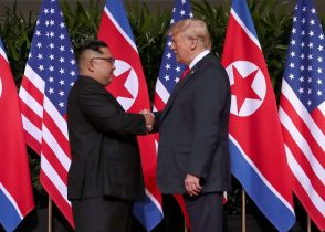 In surprise summit concession, Trump says he will halt Korea war games