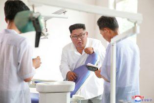 North Korea's Kim criticizes his country's health sector