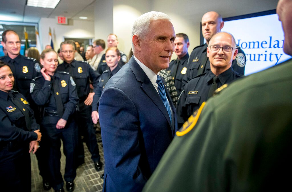 Vice President Pence expresses appreciation to U.S. border patrol, pledges ongoing support