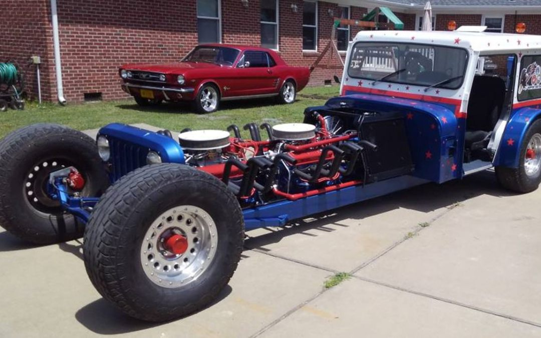 Twin-engine mail Jeep is quite a stretch