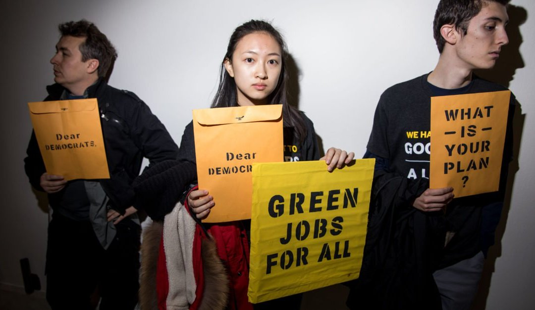Here's What We Know About The Group Behind Ocasio-Cortez's Green New Deal