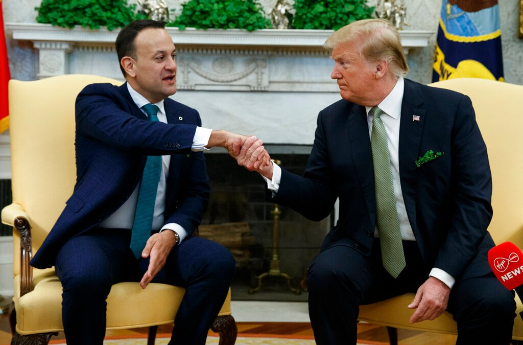 President Trump talks trade & economic relations with Irish prime minister