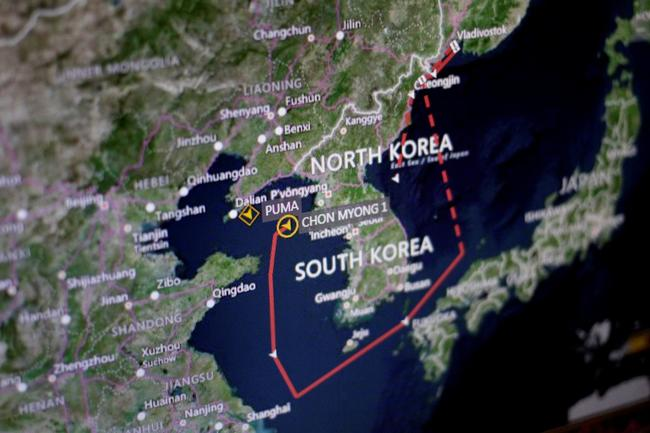 Inside The US-Led Operation To Bust North Korean Oil Smugglers On The High Seas