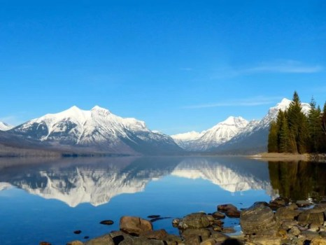 Vista of Lake McDonald