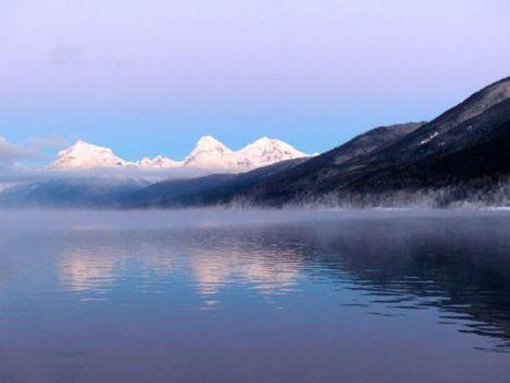Frosty Lake McDonald