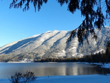 Snowy Lake McDonald