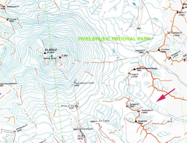 Irik Glacier Retreat Mount Elbrus Russia From a