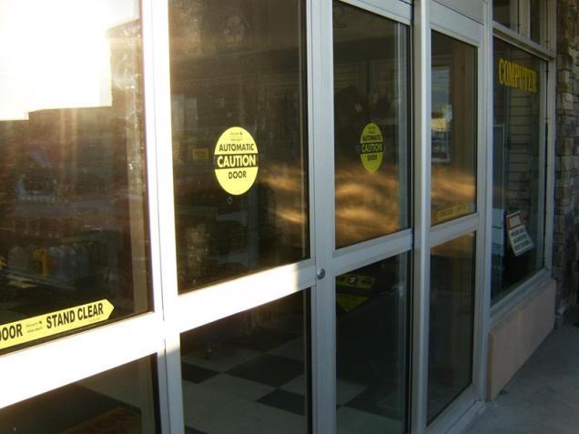 commercial automatic door