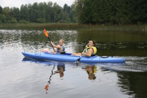 Kayaking & Canoeing Adventure Trip Camps