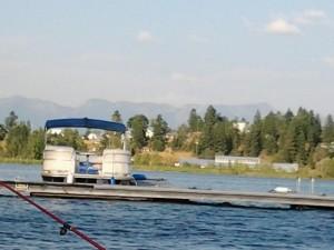 Boating Flathead Lake