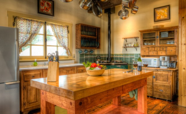 The Birch House Guest Kitchen