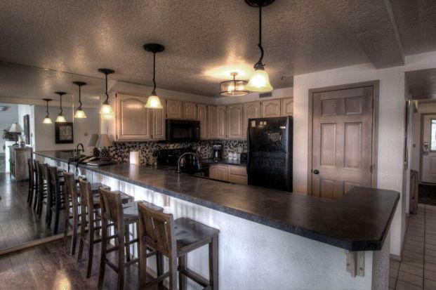 Whitefish Lake Lodge Condo Kitchen