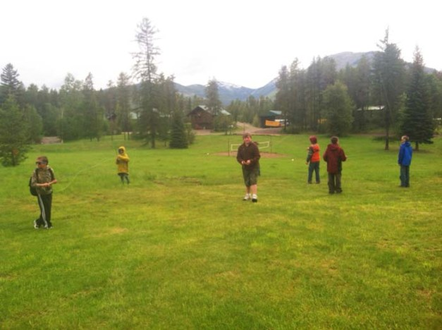 youth fly fishing day camp