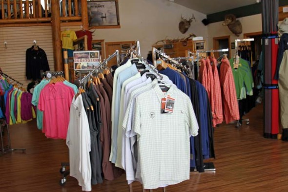apparel section
