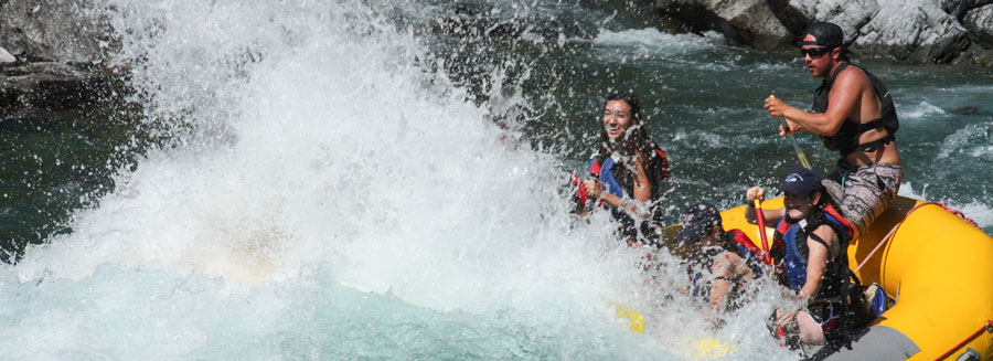 montana whitewater rafting, half-day guided rafting trips