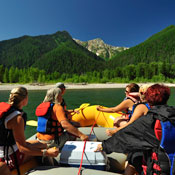 white water rafting montana, flathead river rafting