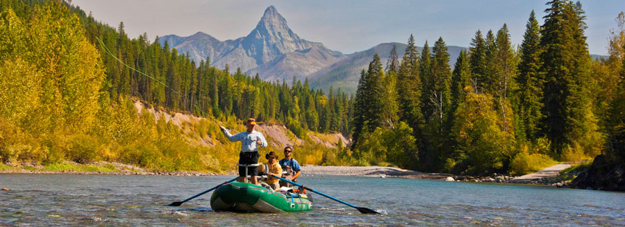 fishing in glacier national park, half-day guided trips