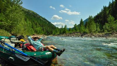 Upper Middle Fork Flathead River, Montana whitewater rafting