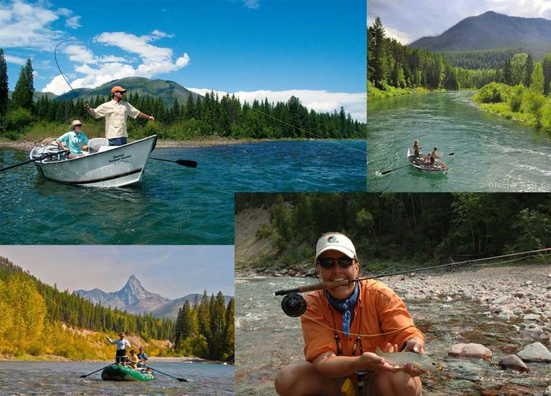 Glacier Park Fishing Guides and Flathead River Trips