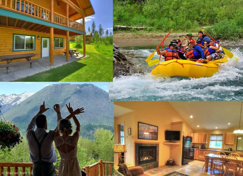 Glacier Park Cabins and Couples Retreat A place to stay