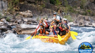 Mark zuckerberg whitewater rafting in Montana.