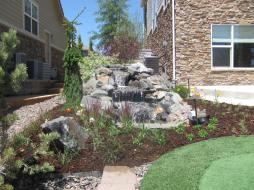 Finished Water Feature