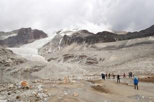 Huayna Potosi. Lodowiec Zongo (Glaciar Zongo). Fot. J. Małecki