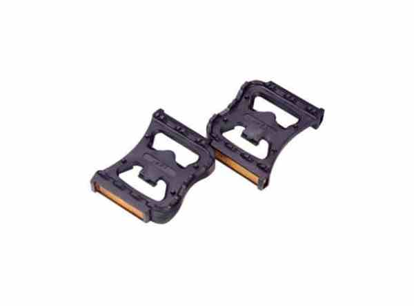 BBB FeetRest BPD-90 Fotplate Sort, plast, SPD kompatibel 1