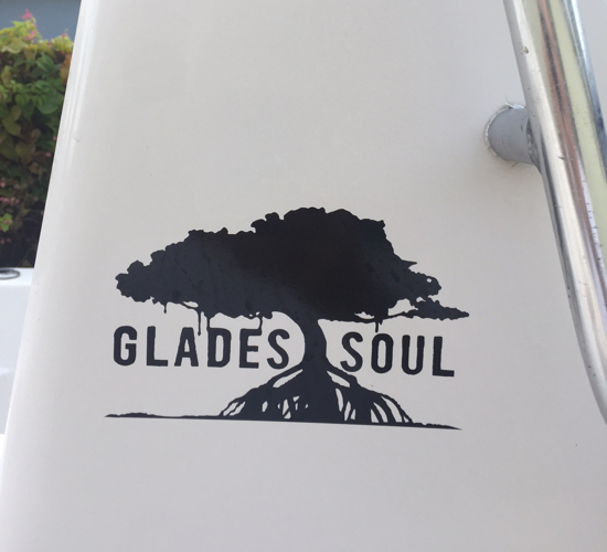 Glades Soul Vinyl Sticker