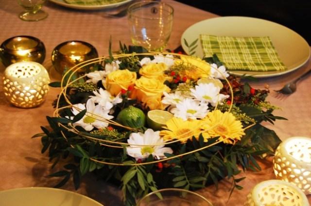 Blomsterdekoration av en bukett för 50 kr (2)