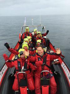 Det ble også tid til en ribbtur på Isfjorden, som gjorde et stor inntrykk. Turen må vi betale selv, om noen spør...
