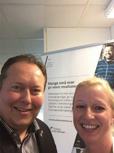 Mange små svar gir store resultater. Ble godt tatt i mot og vist rundt av formidlingsleder Inger-Heidi Kjærvik.